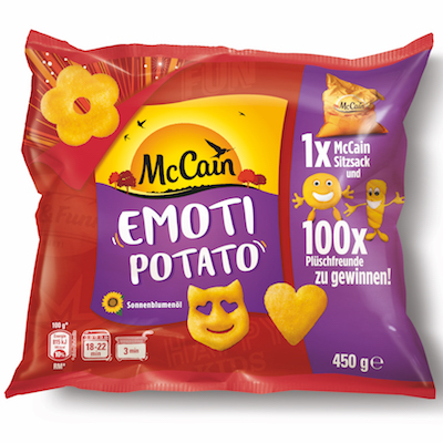 McCain: Emoti Potato Fun Snacks sind zurück